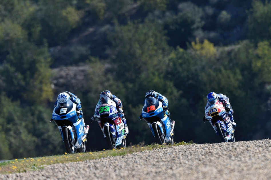 Romano - Fenati - Jerez - 2016 - Race