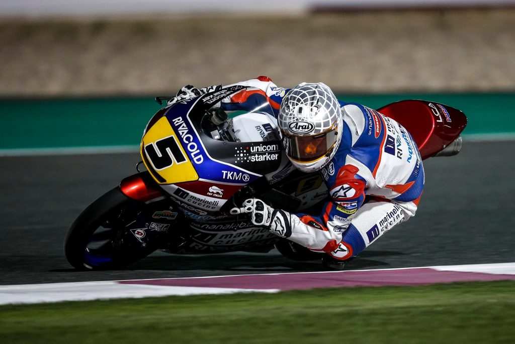 Romano Fenati - Qatar 2017 - Moto3