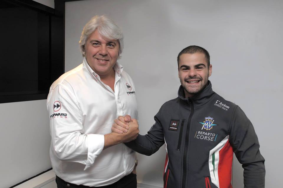 Romano Fenati - Forward Racing Team - Moto2 - 2019